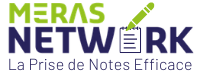 Meras Prise de Notes Efficace Logo